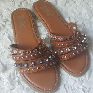 Brash Slip-On Sandals